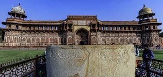 Παλάτι ή Jahangiri Mahal Jahangir στο κόκκινο οχυρό Agra σε Agra, Ινδία στοκ φωτογραφία