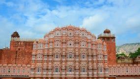 Παλάτι αέρα Mahal Hawa στο Jaipur, Ινδία στοκ φωτογραφίες
