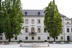 Παλάτι Αρχιεπισκόπου ` s σε Eger, Ουγγαρία Στοκ Εικόνα