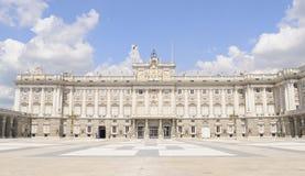 παλάτι βασιλική Ισπανία τη&s Στοκ Φωτογραφία