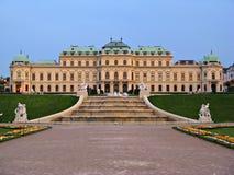παλάτι Βιέννη πανοραμικών πυργίσκων Στοκ Φωτογραφίες