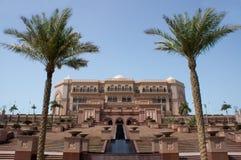 παλάτι εμιράτων του Αμπού Νταμπί Στοκ Εικόνες