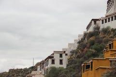 Παλάτι Κίνα του Θιβέτ Potala στοκ εικόνα με δικαίωμα ελεύθερης χρήσης