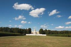 Παλάτι και πάρκο σε Arkhangelskoe Στοκ Εικόνες