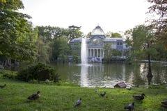 Παλάτι κρυστάλλου Στοκ φωτογραφία με δικαίωμα ελεύθερης χρήσης