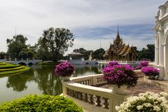 παλάτι κτυπήματος PA βασιλ& Στοκ Εικόνες