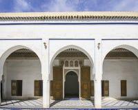 Παλάτι Μαρακές Bahia Στοκ φωτογραφία με δικαίωμα ελεύθερης χρήσης