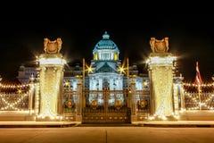 Παλάτι Μπανγκόκ, Ταϊλάνδη Samakhom Ananta στοκ εικόνες