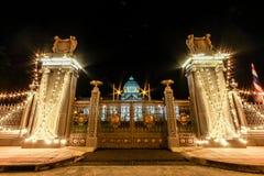 Παλάτι Μπανγκόκ, Ταϊλάνδη Samakhom Ananta στοκ εικόνα με δικαίωμα ελεύθερης χρήσης