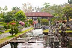 Παλάτι νερού Tirta Gangga στο ανατολικό Μπαλί, Karangasem, Ινδονησία στοκ φωτογραφίες με δικαίωμα ελεύθερης χρήσης