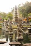 Παλάτι νερού Tirta Gangga στο ανατολικό Μπαλί, Karangasem, Ινδονησία στοκ εικόνες