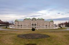 Παλάτι πανοραμικών πυργίσκων στη Βιέννη, Αυστρία Στοκ φωτογραφία με δικαίωμα ελεύθερης χρήσης