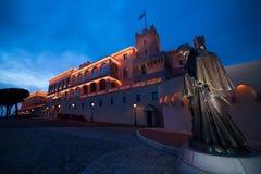 Παλάτι πριγκήπων ` s στο Μονακό Στοκ Φωτογραφίες