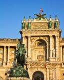 παλάτι προσόψεων hofburg Στοκ εικόνα με δικαίωμα ελεύθερης χρήσης