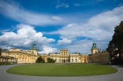 Παλάτι σε Wilanow, Πολωνία Στοκ φωτογραφία με δικαίωμα ελεύθερης χρήσης