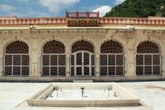 Παλάτι στο Jaipur. Στοκ Φωτογραφίες