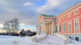 Παλάτι της αρίθμησης Sheremetov στο κτήμα Kuskovo, Μόσχα, Ρωσία Στοκ Εικόνες
