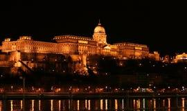 παλάτι της Βουδαπέστης βασιλικό Στοκ φωτογραφία με δικαίωμα ελεύθερης χρήσης