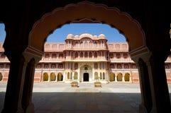παλάτι της Ινδίας Jaipur πόλεων στοκ εικόνες με δικαίωμα ελεύθερης χρήσης