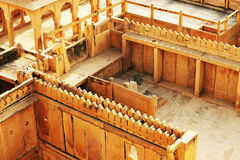 παλάτι της Ινδίας jaisalmer mandir Στοκ Εικόνες