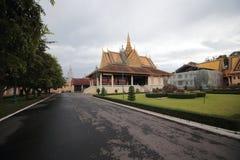 παλάτι της Καμπότζης βασι&lamb Στοκ εικόνα με δικαίωμα ελεύθερης χρήσης