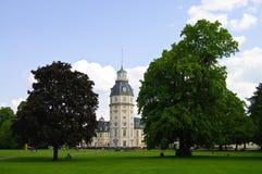 παλάτι της Καρλσρούης Στοκ φωτογραφία με δικαίωμα ελεύθερης χρήσης
