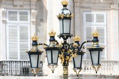 παλάτι της Μαδρίτης βασιλ&i Στοκ Φωτογραφία