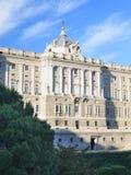 παλάτι της Μαδρίτης βασιλ&i Στοκ Εικόνα
