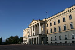 παλάτι της Νορβηγίας Όσλο  στοκ εικόνες με δικαίωμα ελεύθερης χρήσης