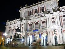 παλάτι Τορίνο της Ιταλίας c Στοκ Φωτογραφία