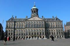 παλάτι του Άμστερνταμ βασιλικό Στοκ Εικόνα