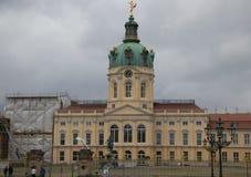 παλάτι του Βερολίνου Σαρλότεμπουργκ στοκ εικόνα με δικαίωμα ελεύθερης χρήσης