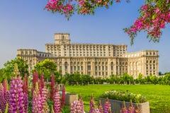 Παλάτι του Κοινοβουλίου, Βουκουρέστι στοκ εικόνα με δικαίωμα ελεύθερης χρήσης