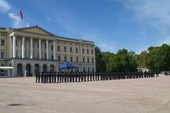 παλάτι του Όσλο βασιλικό Στοκ Εικόνες