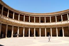 Παλάτι του Charles Β Alhambra, Γρανάδα Στοκ φωτογραφία με δικαίωμα ελεύθερης χρήσης
