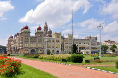 Παλάτι του Mysore, Karnataka, Ινδία στοκ φωτογραφία με δικαίωμα ελεύθερης χρήσης