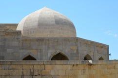 Παλάτι του Shirvanshahs στην παλαιά πόλη του Μπακού, πρωτεύουσα του Αζερμπαϊτζάν στοκ εικόνα με δικαίωμα ελεύθερης χρήσης