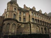 Παλάτι του TAU Angers - μια πόλη στο δυτικό τμήμα της Γαλλίας η κοιλάδα της Loire Στοκ Φωτογραφίες