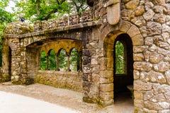 Παλάτι το κτήμα Quinta DA Regaleira, Sintra, Πορτογαλία στοκ φωτογραφία με δικαίωμα ελεύθερης χρήσης