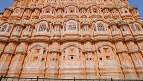 Παλάτι των ανέμων ή Hawa Mahal στο Jaipur φιλμ μικρού μήκους