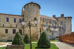 Παλάτι των Αρχιεπισκόπων, Narbonne, Γαλλία στοκ εικόνα