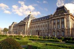 παλάτι των Βρυξελλών βασιλικό Στοκ εικόνα με δικαίωμα ελεύθερης χρήσης