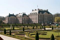 παλάτι τ τουαλετών κήπων στοκ εικόνα