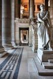 παλάτι δικαιοσύνης των Βρ&u Στοκ φωτογραφία με δικαίωμα ελεύθερης χρήσης