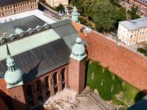 παλάτι δικαστηρίων βασιλ&i Στοκ Φωτογραφίες