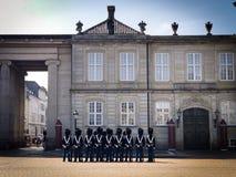 Παλάτι Amalienborg στοκ φωτογραφίες με δικαίωμα ελεύθερης χρήσης
