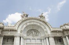 Παλάτι Artes Bellas Πόλη του Μεξικού Στοκ Εικόνες