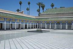 Παλάτι Bahia, Μαρακές, Μαρόκο - 8 Μαΐου 2017 στοκ εικόνα με δικαίωμα ελεύθερης χρήσης