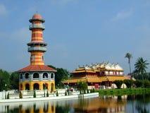 Παλάτι Bangpain στοκ εικόνες