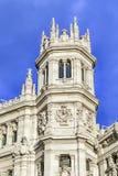 Παλάτι Cibeles, Μαδρίτη, Ισπανία Στοκ Εικόνα